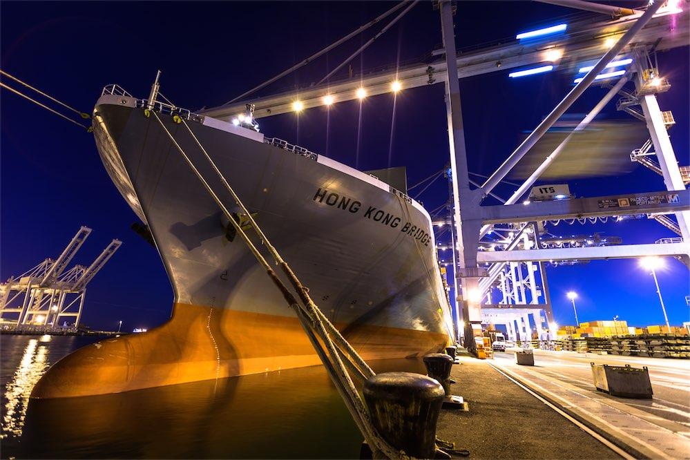 Vessel Stevedoring International Transportation Service